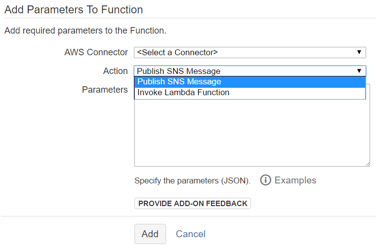 Automate with AWS post function